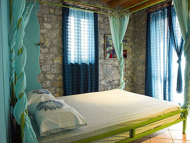 Aoritis Villas - Villa Rozare Bedroom