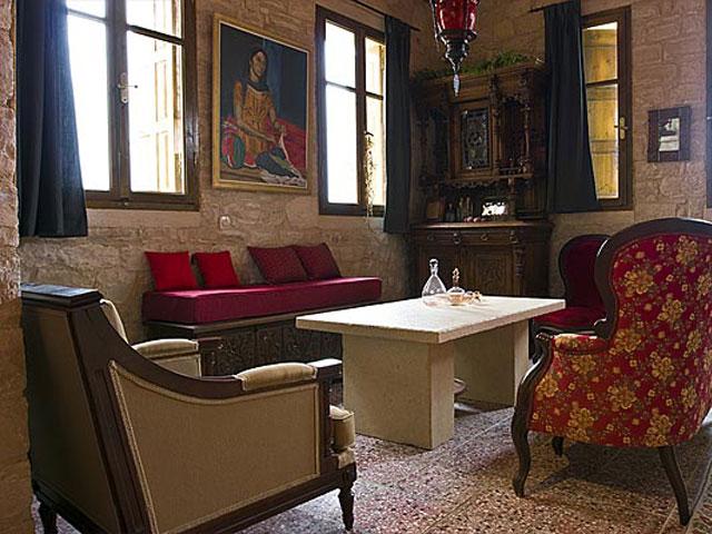 Aoritis Villas - Villa Kantinella Living Room