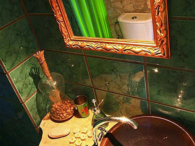Aoritis Villas - Villa Manousaki Bathroom