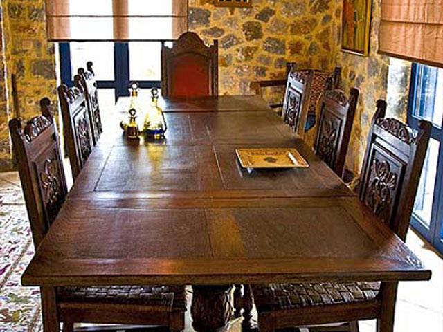 Aoritis Villas - Villa Petritis Dining Room