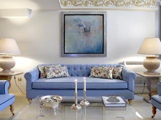 Arxontiko Pepos Hotel - Living Room
