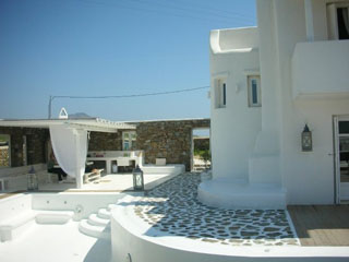 Mykonos White - Exterior View