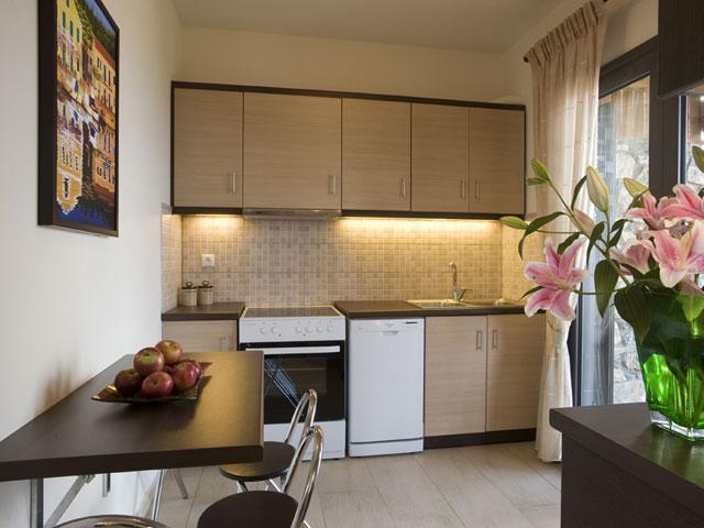 Elounda Solfez Villas - Kitchen