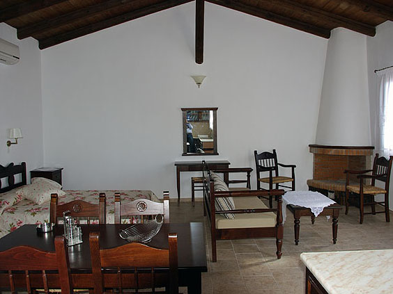 Vrachos Villas - Bedroom View