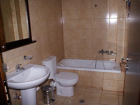 Vrachos Villas - Bathroom View