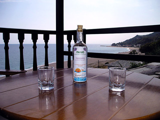 Flamingo Hotel - Traditional Greek Tsipouro in Hotel Flamingo