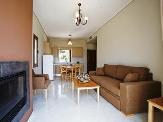 Evia Hotel & Suites - Suite Living Room