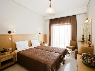Evia Hotel & Suites - Suites Bedroom