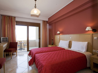 Evia Hotel & Suites - Double Room red