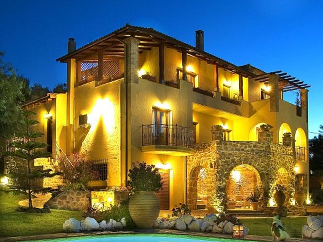 Bozonos Luxury Villas - Exterior View