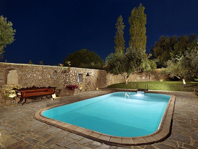 Bozonos Luxury Villas - Pool Area