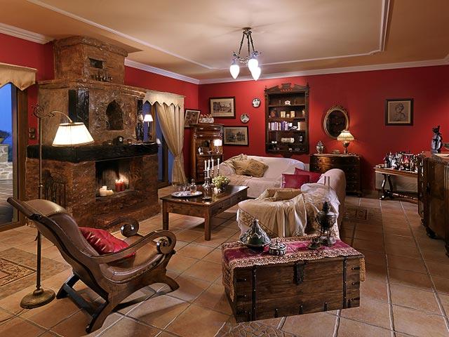 Bozonos Luxury Villas - Sitting Area