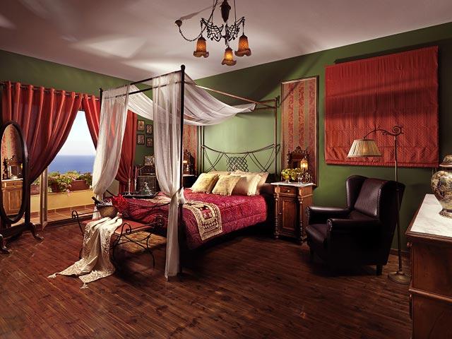 Bozonos Luxury Villas - Bedroom