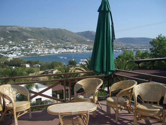 Paros Eden Park Hotel - Roof View