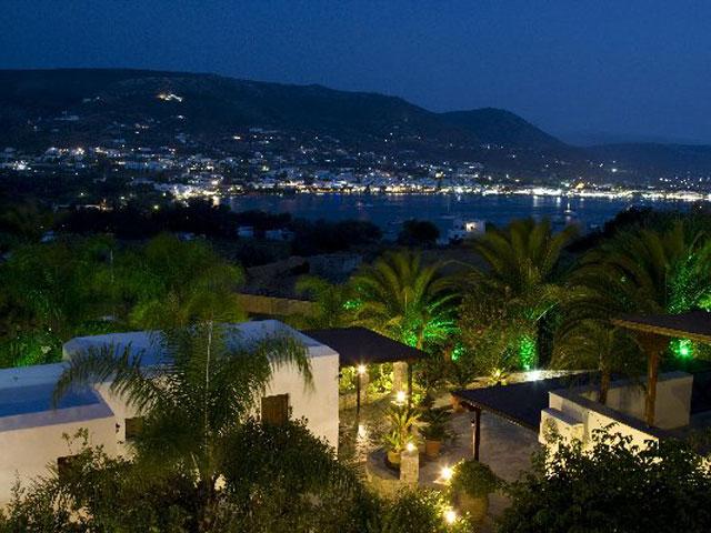 Paros Eden Park Hotel - Beach Night view