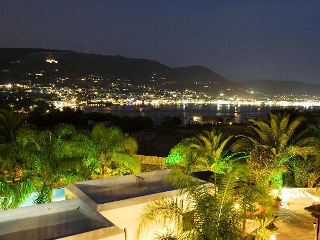 Paros Eden Park Hotel - Night Balcony View