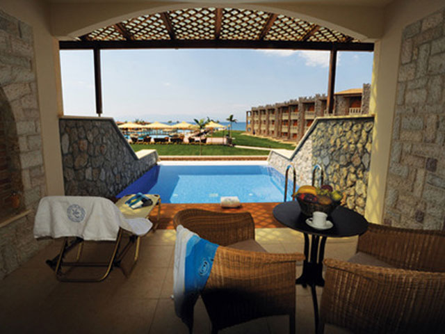 Kandias Castle Resort & Thalasso - Deluxe Room Pool