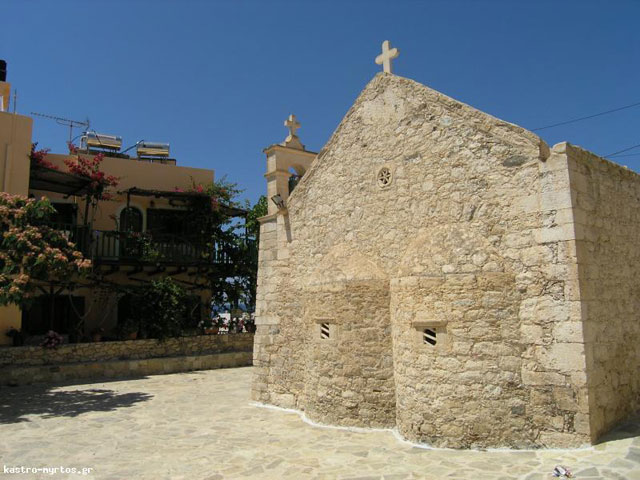 Kastro Hotel Myrtos - Church