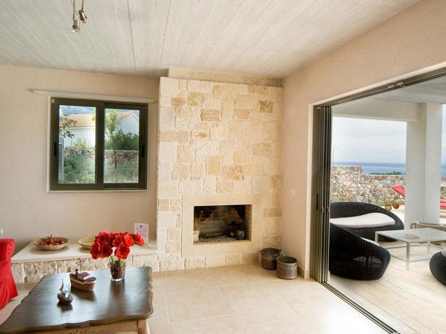 Ideales Resort - Corali Villa:Living Room