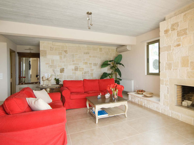 Ideales Resort - Corali Villa:Living Room