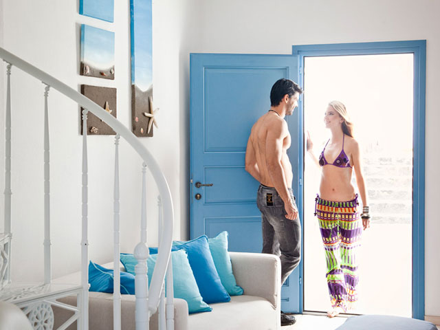 Thermes Luxury Villas - Room Entrance
