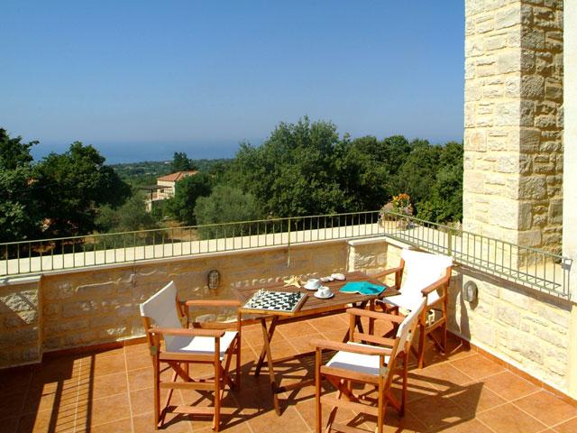 Aloe and Lotus Villas - Villa Aloe - Balcony View
