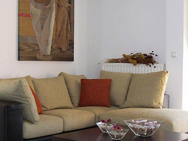 Manolioudis Villas - Living Room