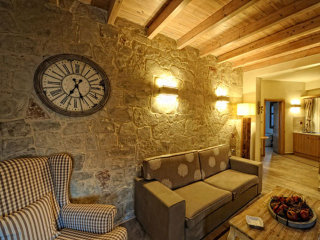 Villa Mala - Dictamnus Maisonette Living Room