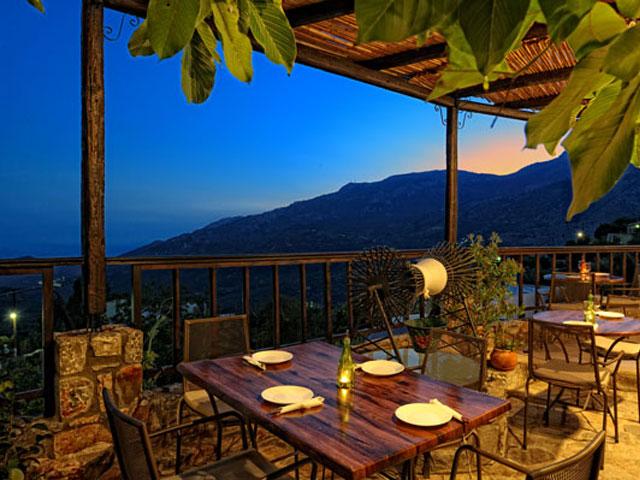Villa Mala - Outdoor Restaurant