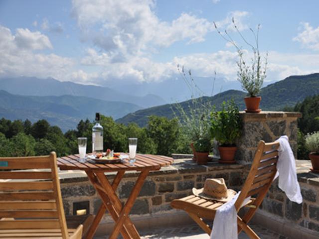 Dasos Theretron - Balcony View