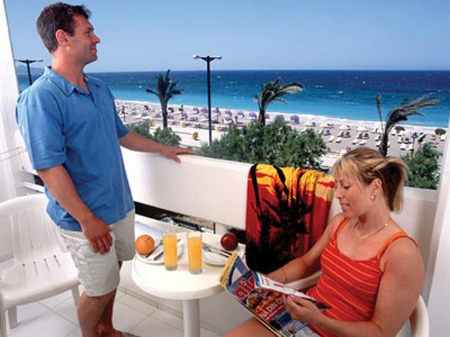 Rhodos Beach Hotel - Balcony