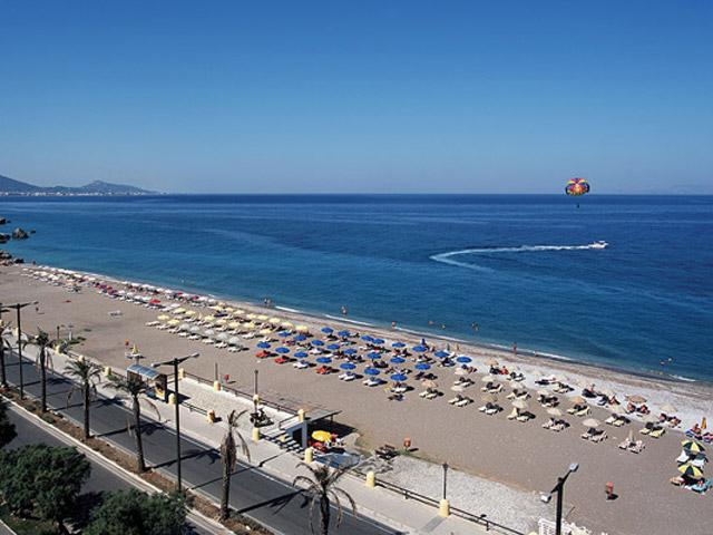 Rhodos Beach Hotel - Beach