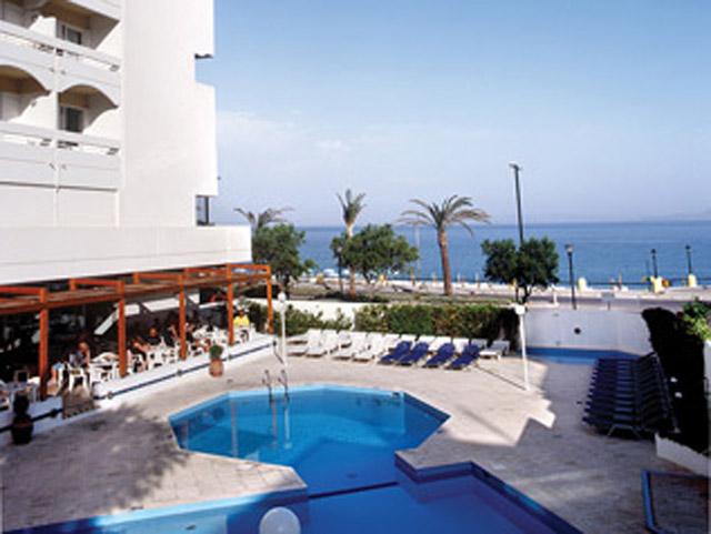 Rhodos Beach Hotel - Pool Area