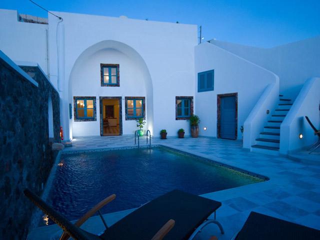 Santorini Luxury Villas - Dream Luxury Villa- exterior view