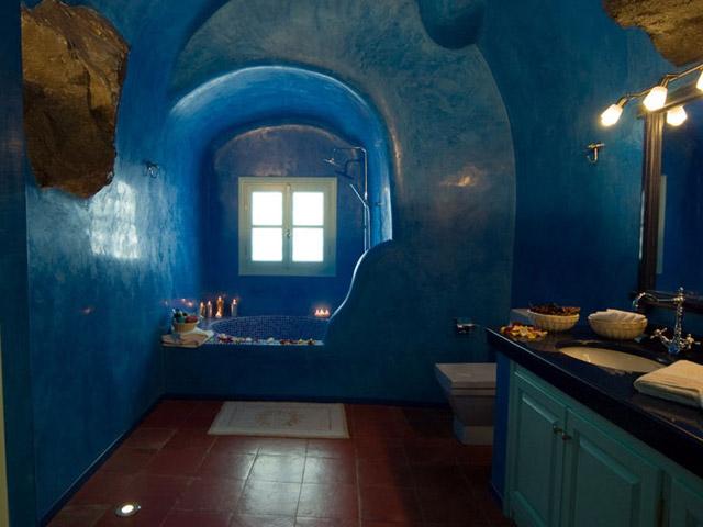 Santorini Luxury Villas - Honeymoon Luxury Villa- bathroom