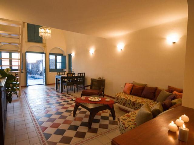 Santorini Luxury Villas - Dream Luxury Villa- interior view