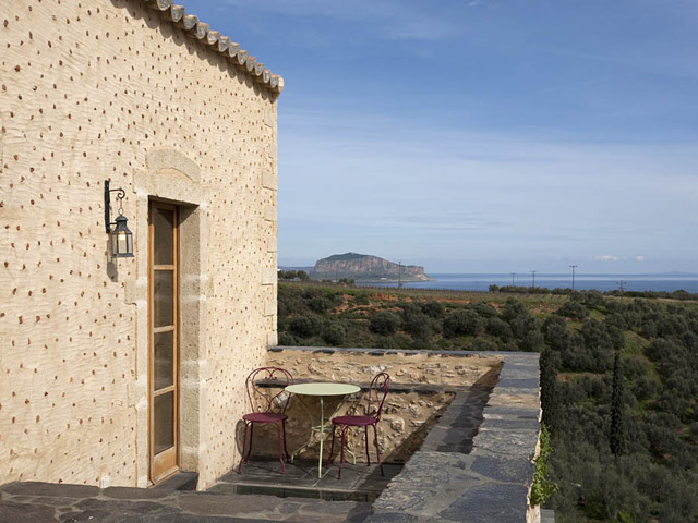 Kinsterna Hotel and Spa Monemvasia - Balcony