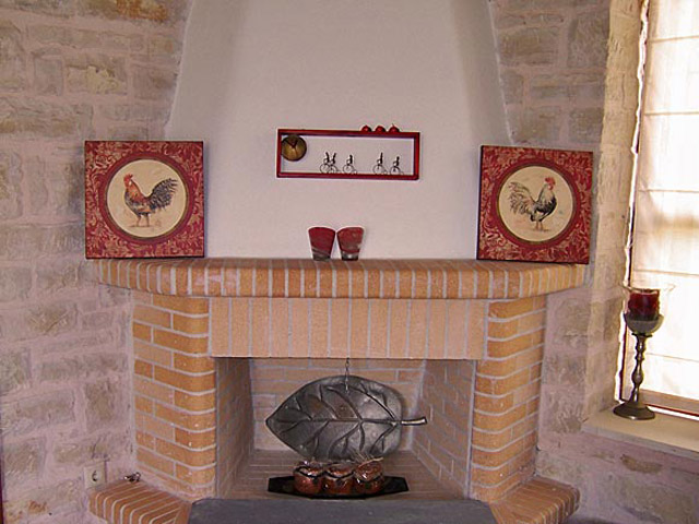 Villa Amaryllis - Fireplace
