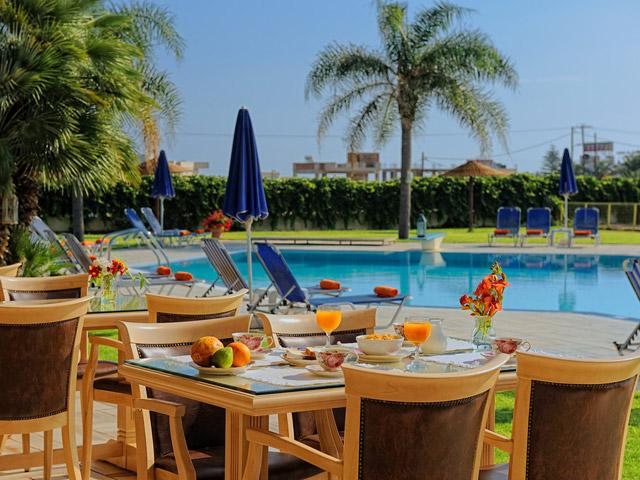 Socrates Hotel Apartments - Restaurant
