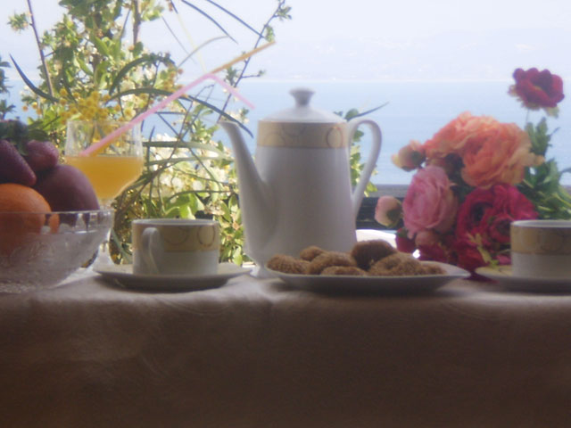 Antigoni Hotel - Breakfast area