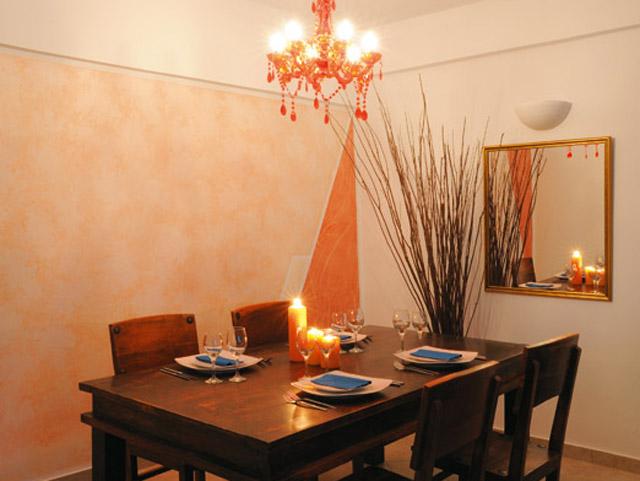 Calderas Lilium Villas - Standard Suite Dining Room