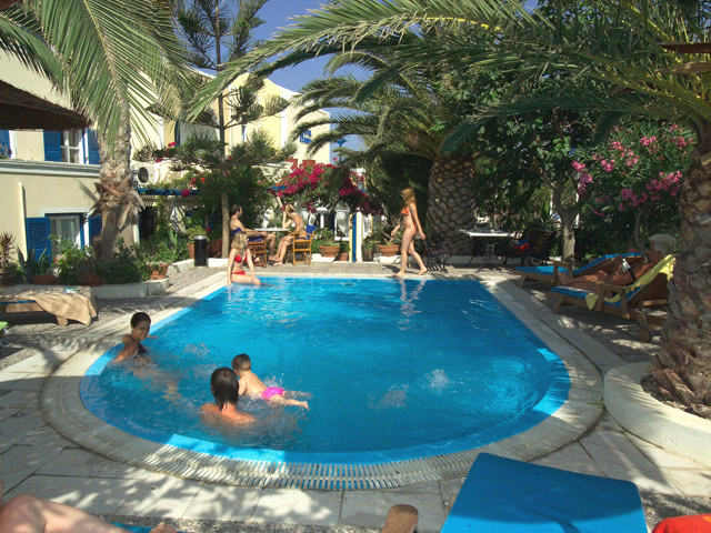 Hermes Hotel - Pool area