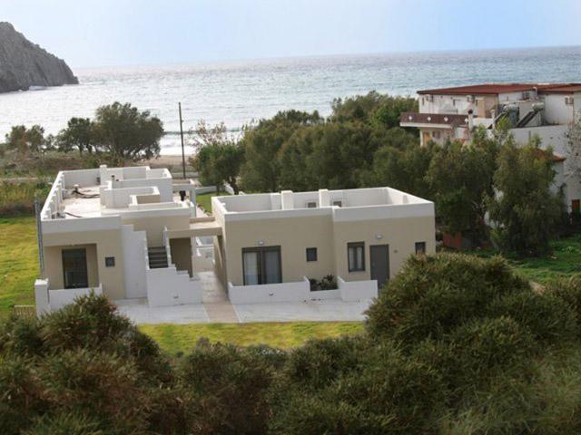 Plakias Suites - Aerial Exterior View