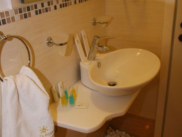 Tholaria Boutique Resort - Suite Aigeo - Bathroom