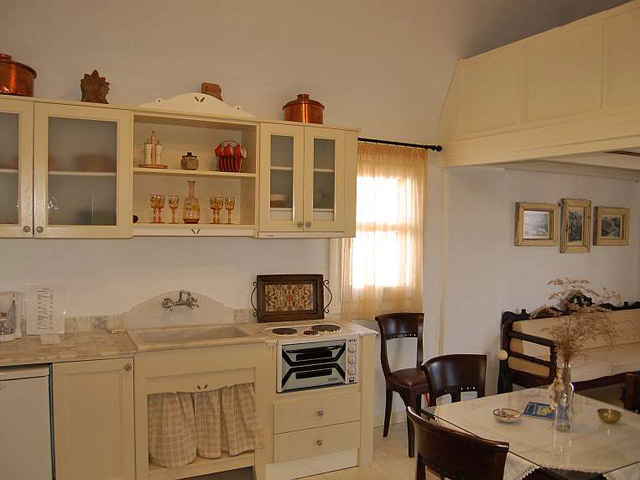 Tholaria Boutique Resort - Suite Tholos -Dining Area