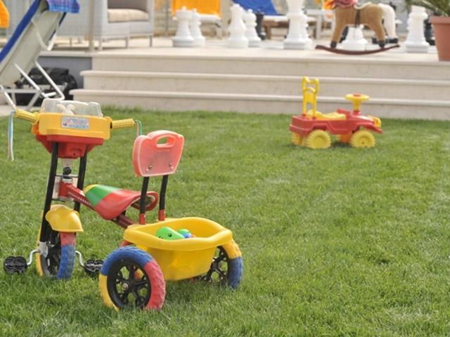 Karvouno Villas - Play area
