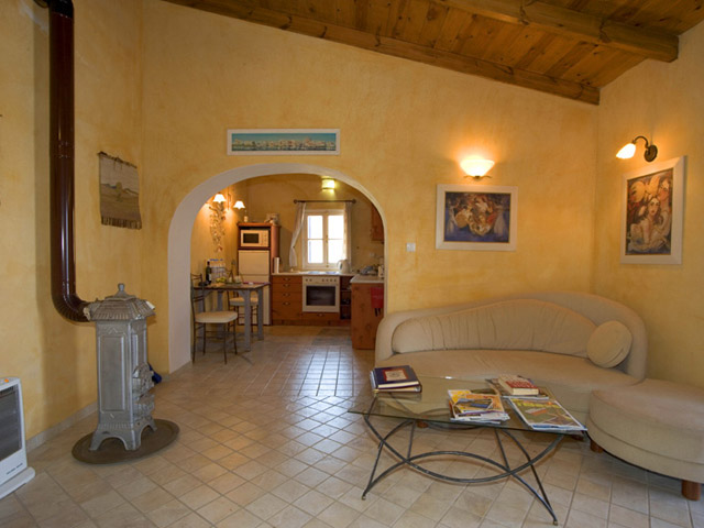 Villa Artemis - Living room- Dining area