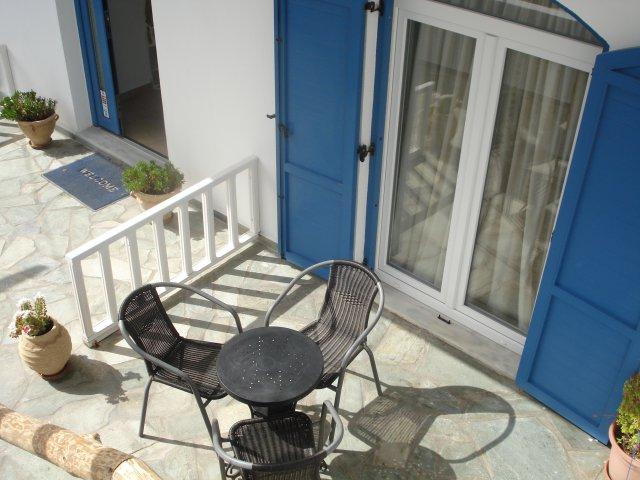 Maistrali Studios (Rooms) - Balcony