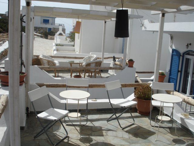 Maistrali Studios (Rooms) - Exterior View - Sitting Area