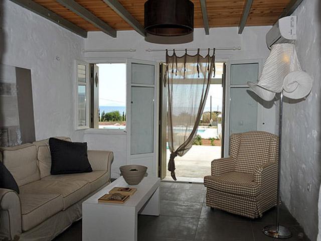 Stagones Luxury Villas - Living Room